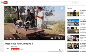 Best Props for DJI Inspire 1 by Drone Gear