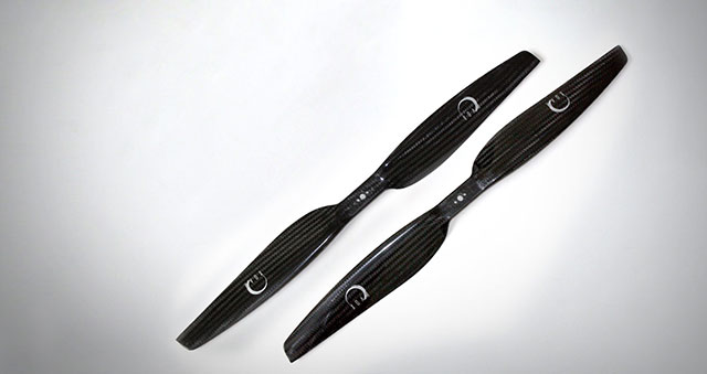 PJP-T-L - Quadcopter & Multicopter Propellers made with Carbon Fiber - Precision Pair Propeller For Electric Low Kv Motors