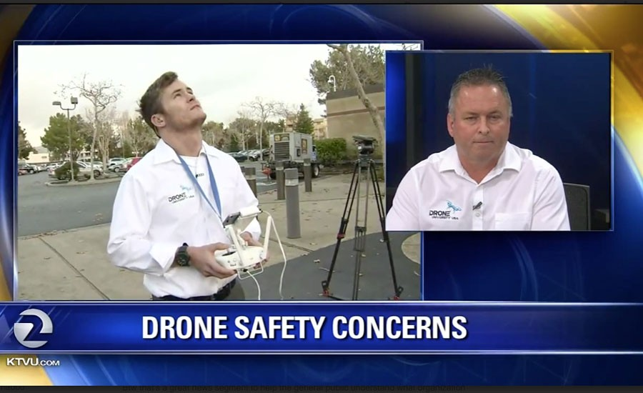 Drone University USA & XOAR on TV & Radio