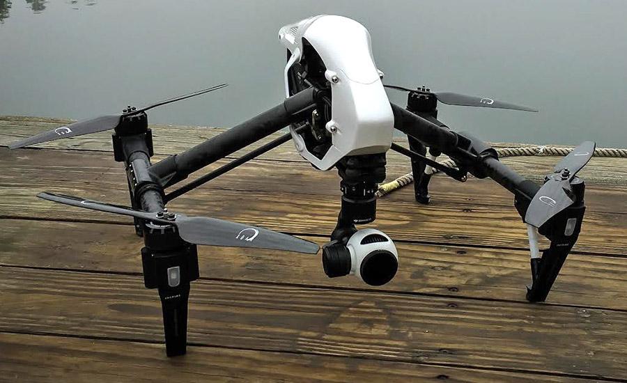 DJI Inspire 1 and Xoar Propeller