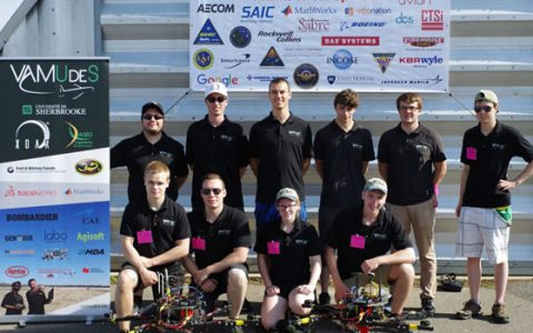 The VAMUdeS Team Crowned Champion of AUVSI SUAS 2018