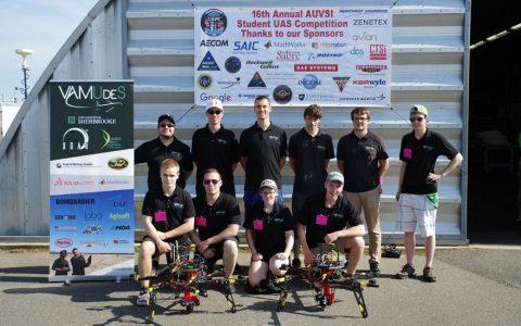 The VAMUdeS Team Crowned Champion of AUVSI SUAS 2018