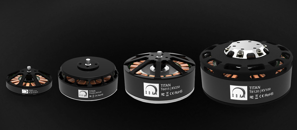 XOAR Titan Brushless Electric Motors Heavy Lifting Series